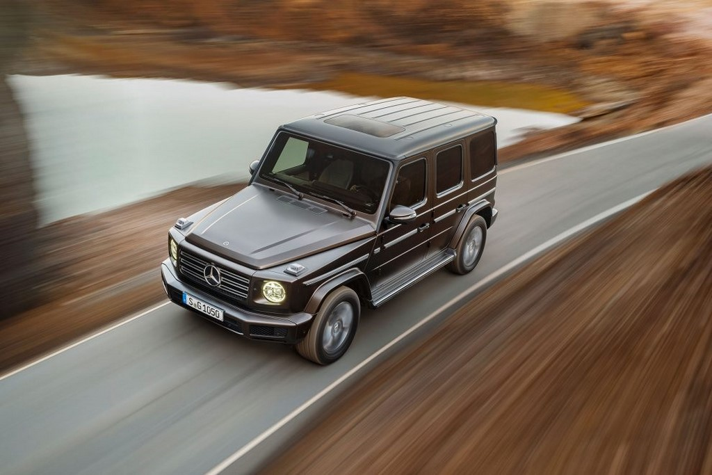 2019 Mercedes G-Class Unveiled