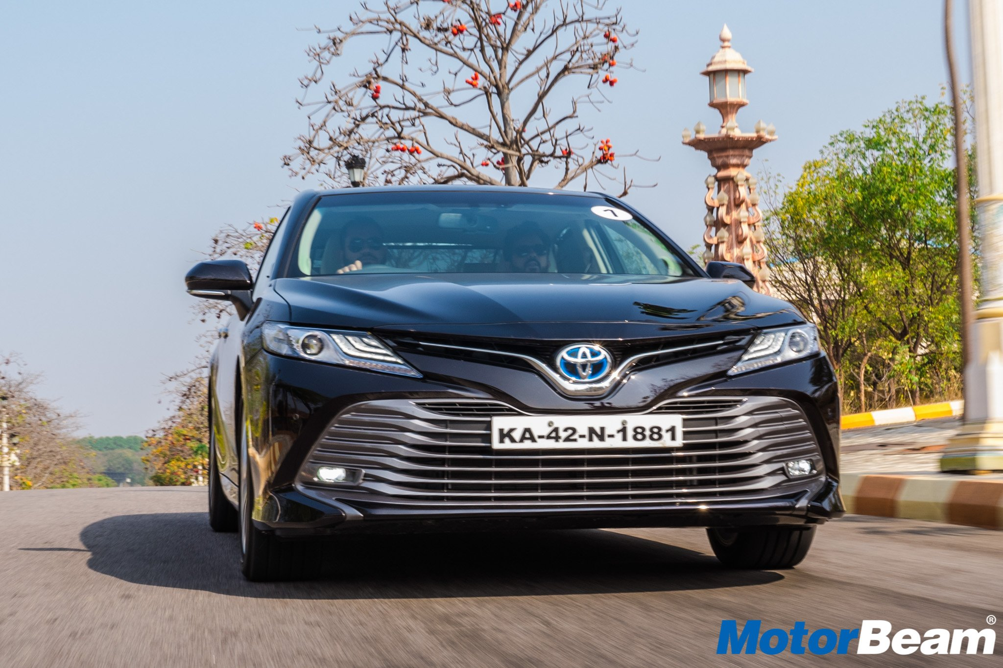 2019 Toyota Camry Hybrid Review Test Drive