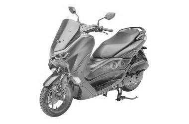 2019 Yamaha NMAX Front Left