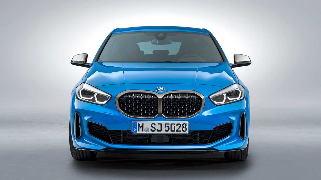 2020 BMW 1-Series Front