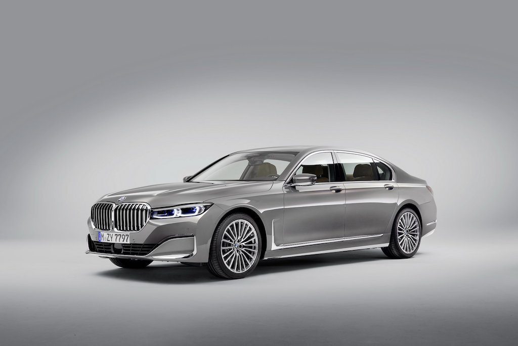 2020 BMW 7-Series Front