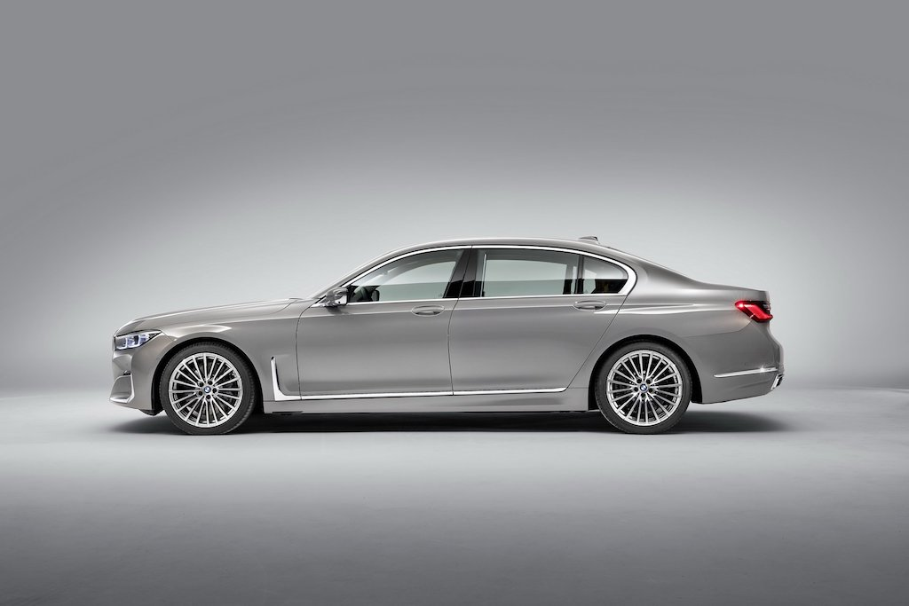 2020 BMW 7-Series Side