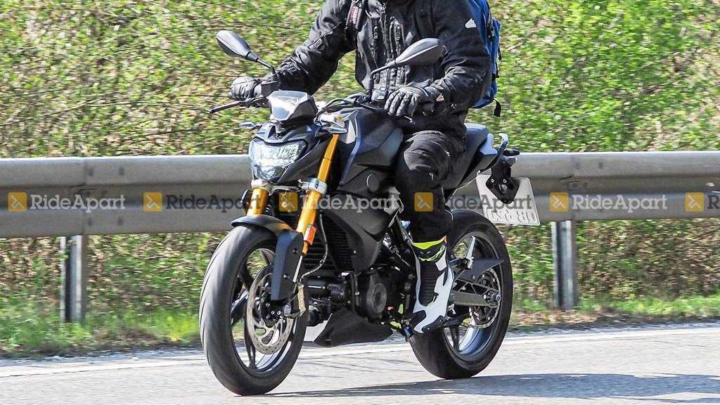 2020 BMW G 310 R Spotted