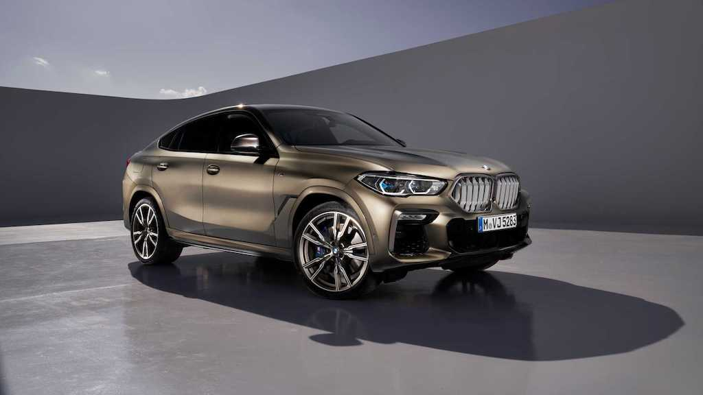 2020 BMW X6 Unveiled
