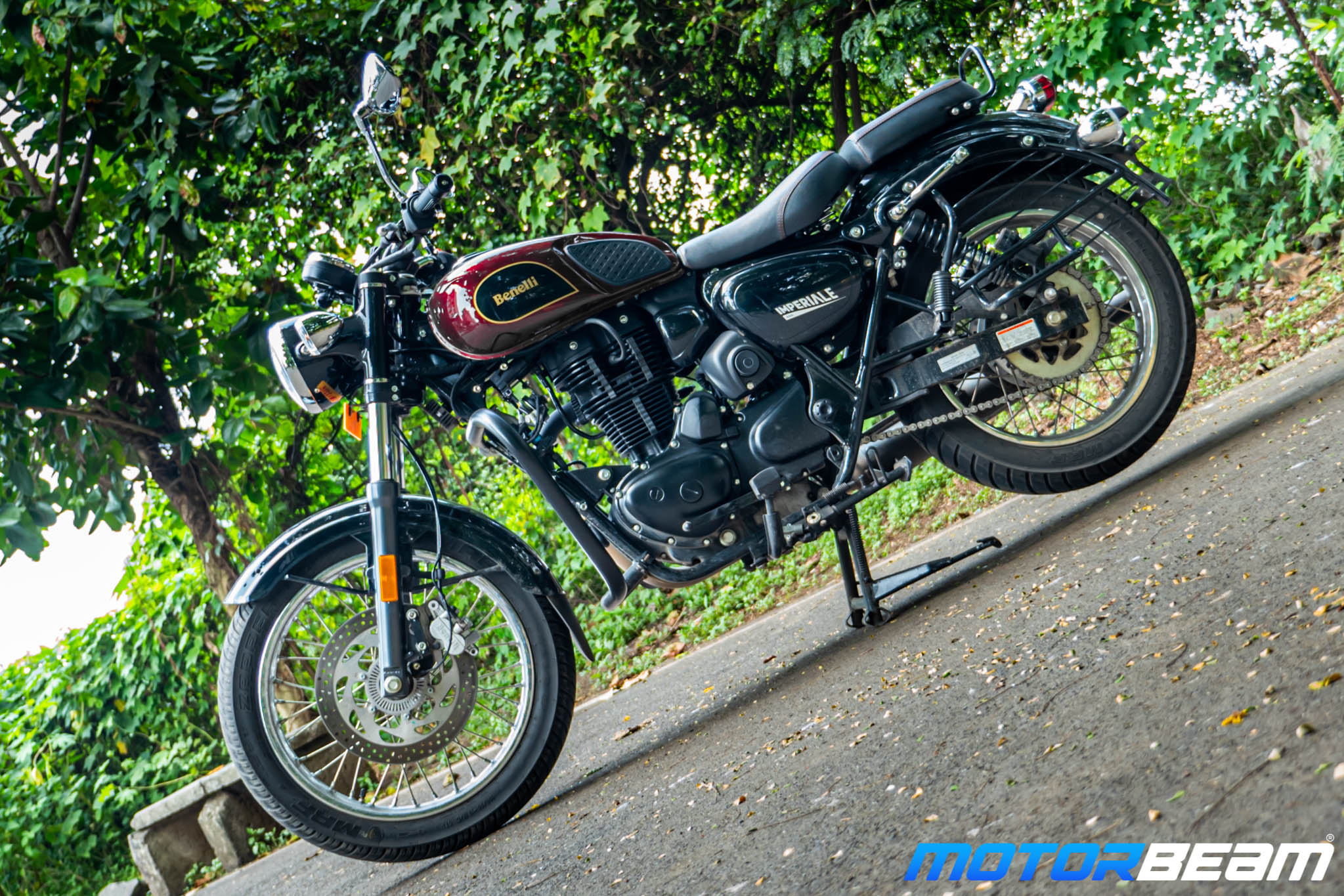 2020 Benelli Imperiale 400 Review 10