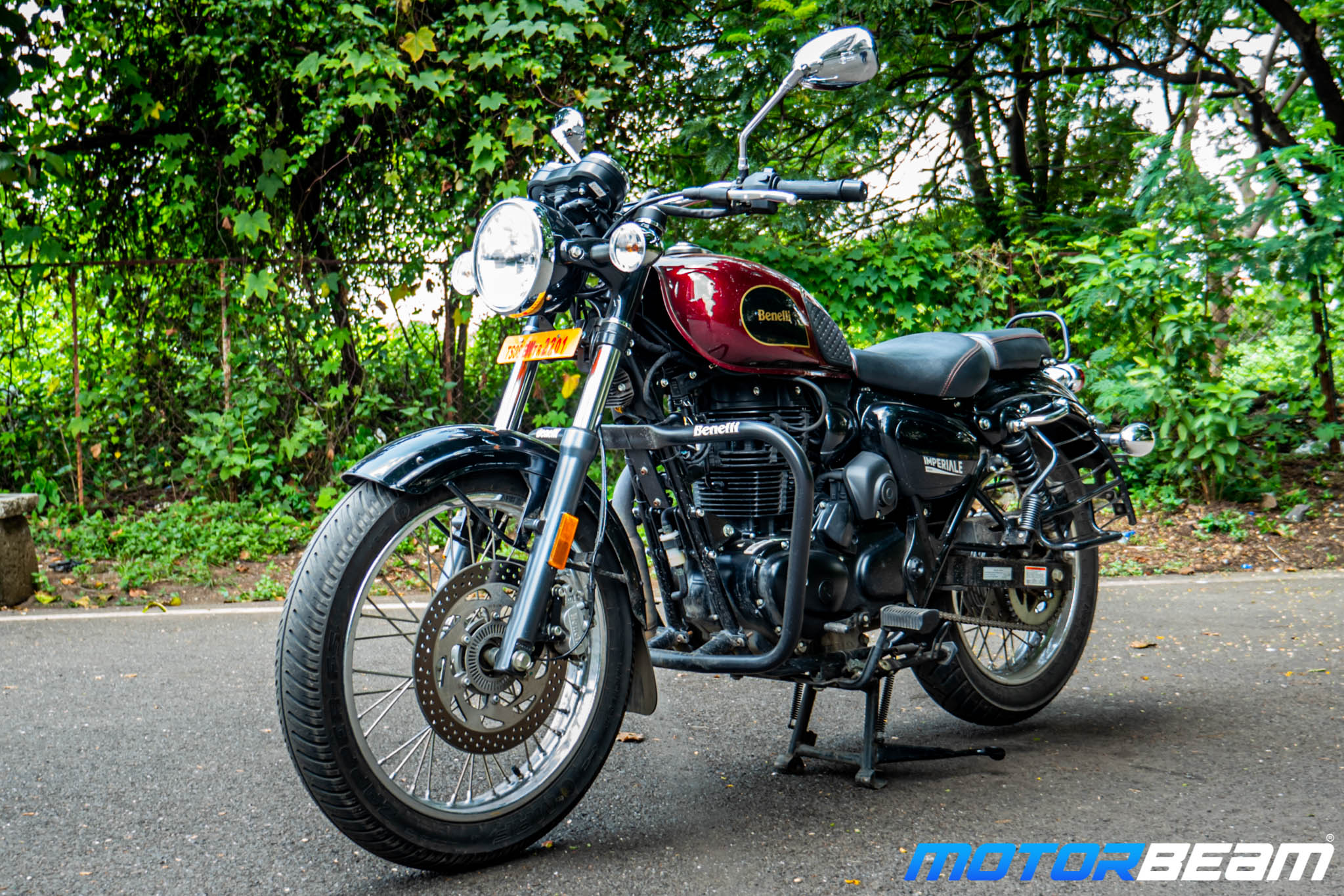 2020 Benelli Imperiale 400 Review 12