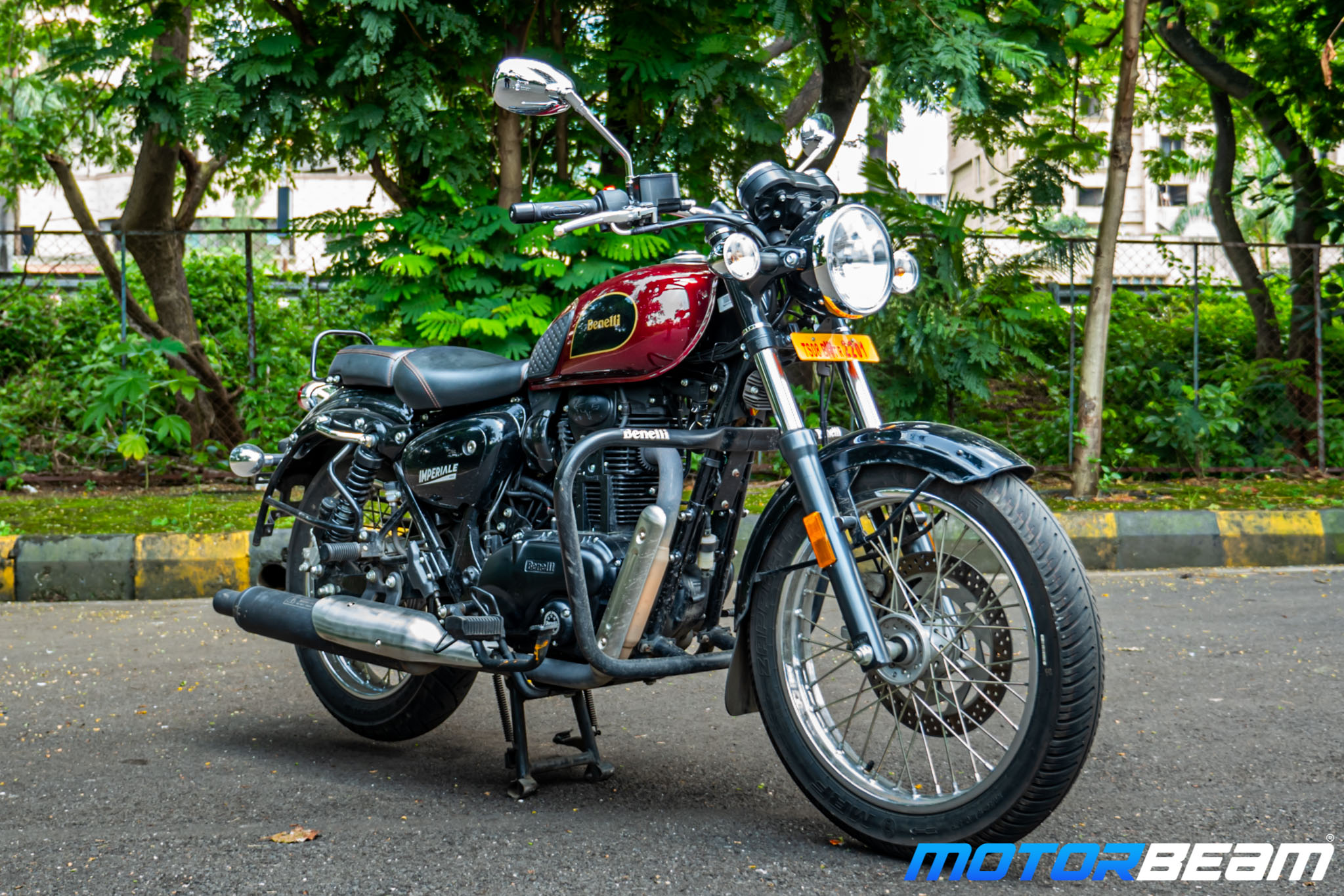 2020 Benelli Imperiale 400 Review 13