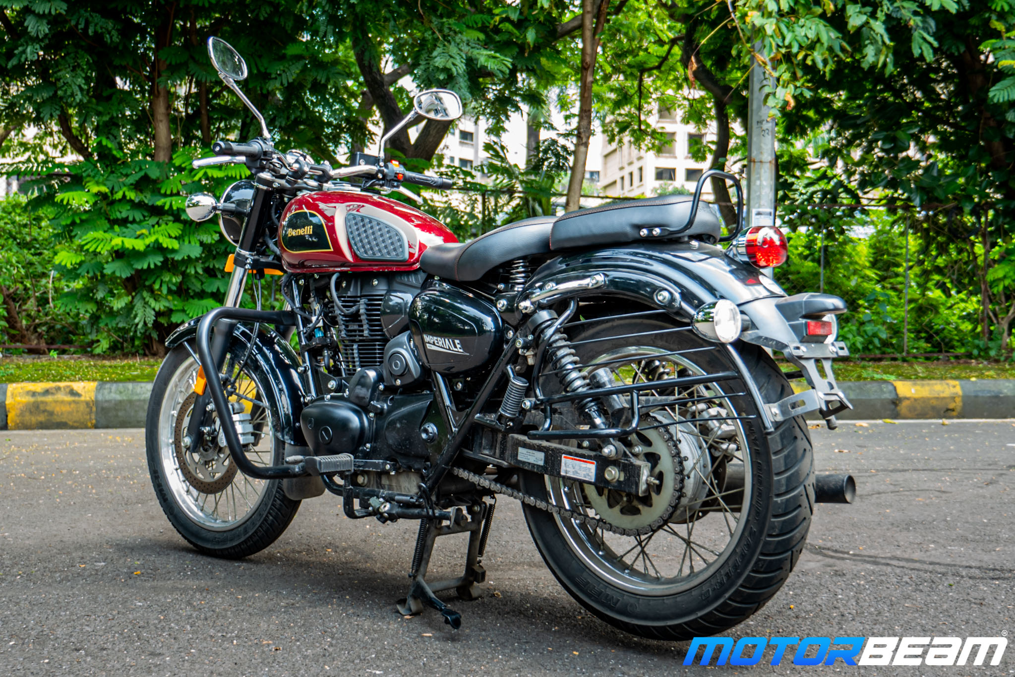 2020 Benelli Imperiale 400 Review 14