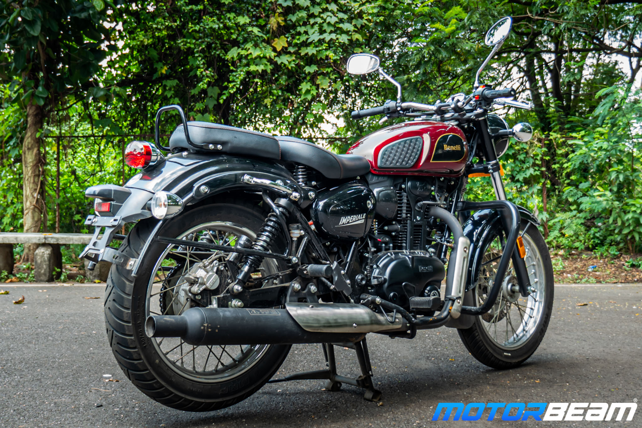 2020 Benelli Imperiale 400 Review 15