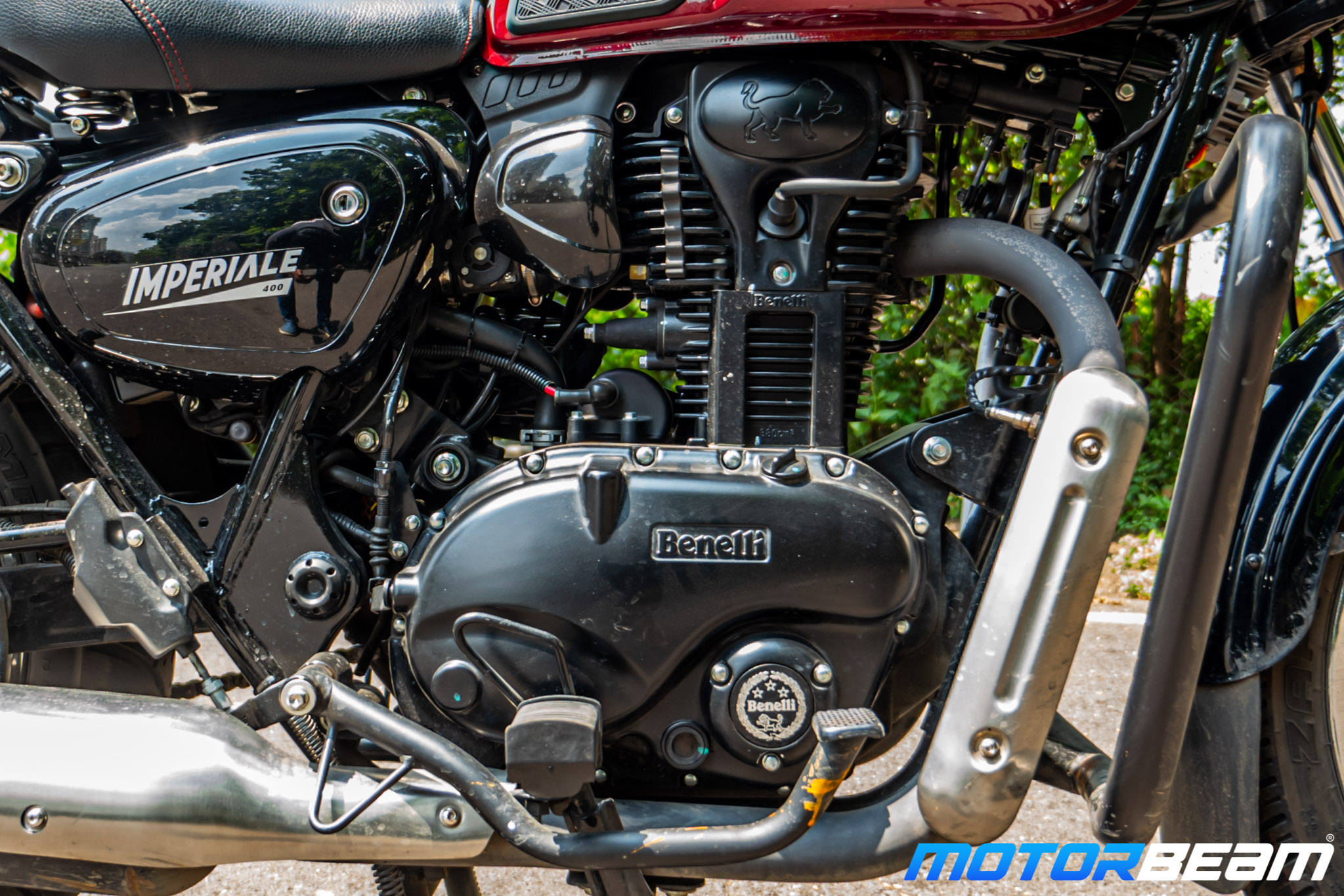 2020 Benelli Imperiale 400 Review 26