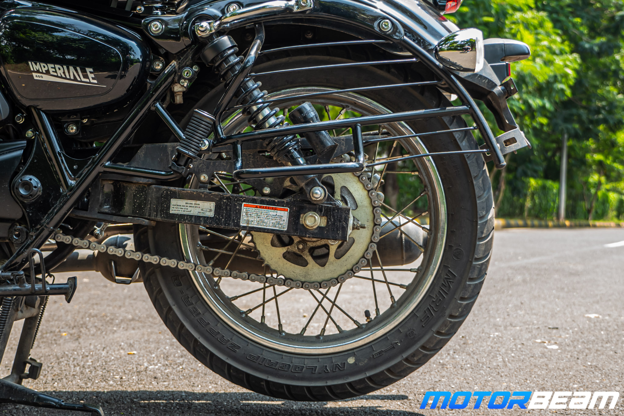 2020 Benelli Imperiale 400 Review 34