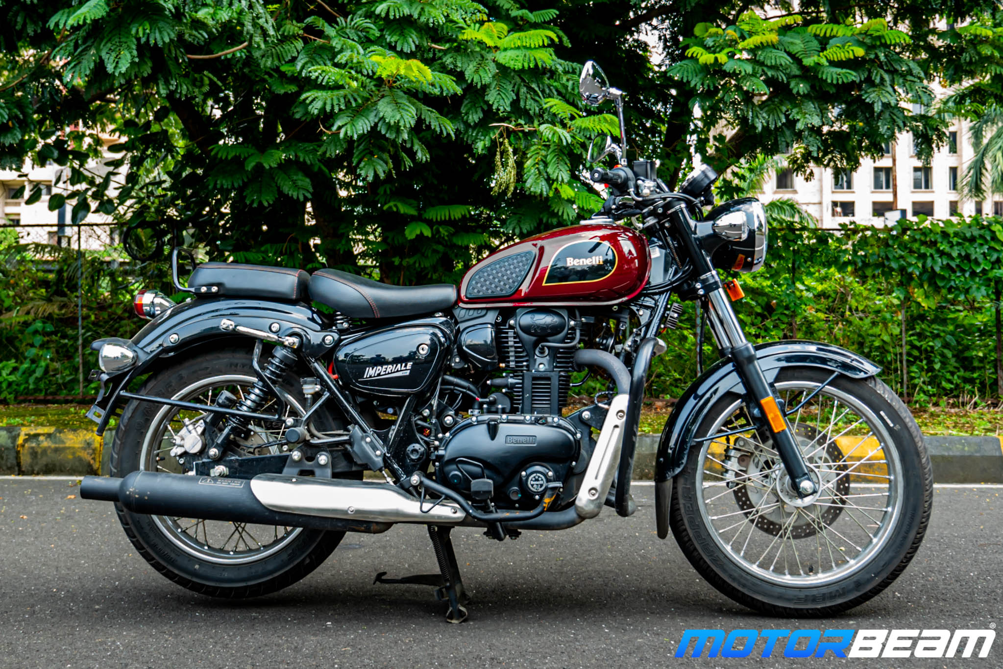 2020 Benelli Imperiale 400 Review 8