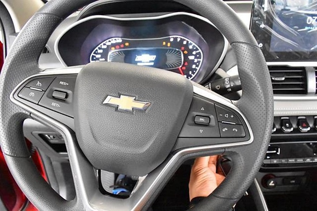 2020 Chevrolet Groove Dashboard
