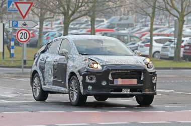 2020 Ford EcoSport Front Spied