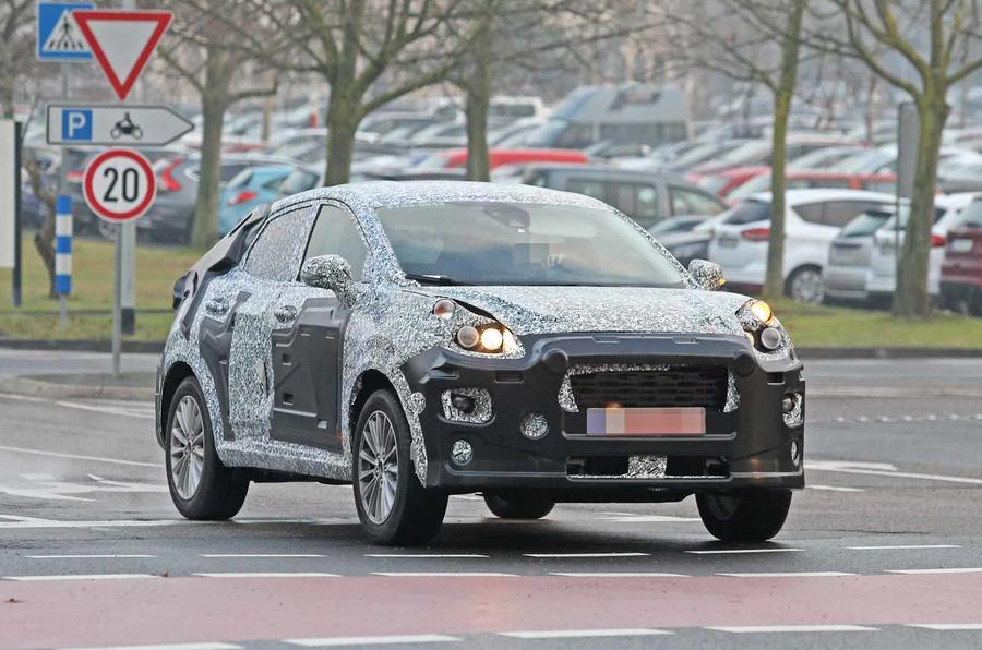 2020 Ford EcoSport Spy Photos And New Generation >> Next Gen Ford Ecosport Caught On Test Motorbeam