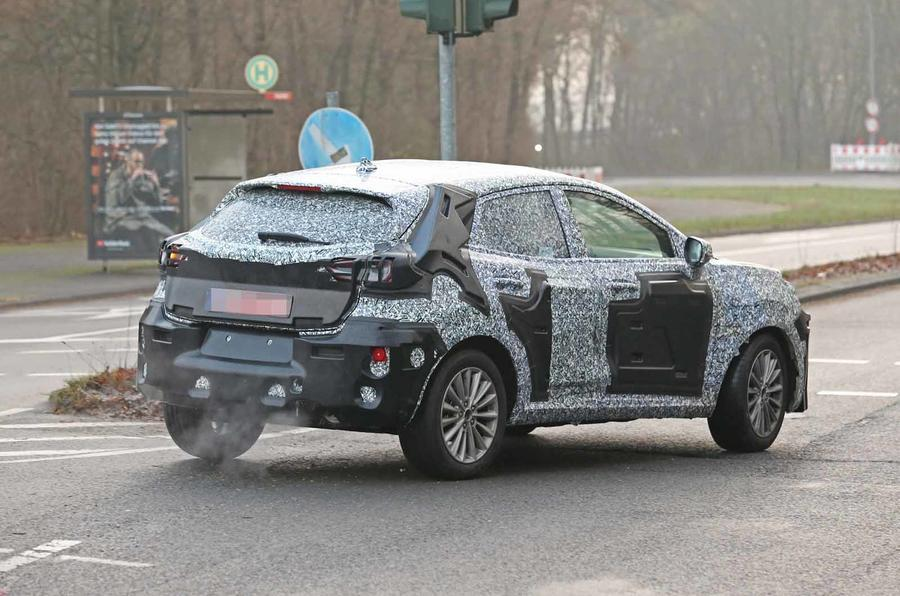 2020 Ford EcoSport Rear Spied