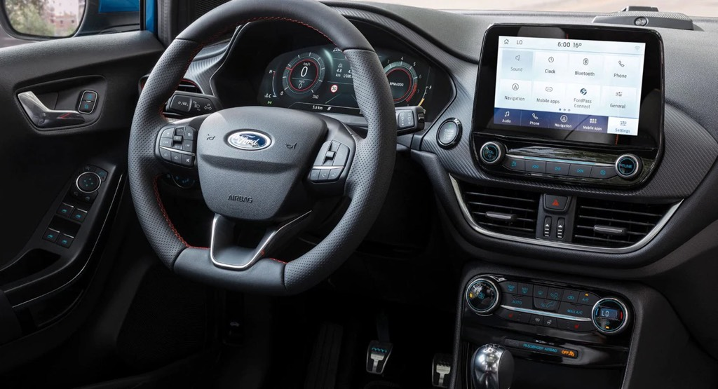 2020 Ford Puma Dashboard