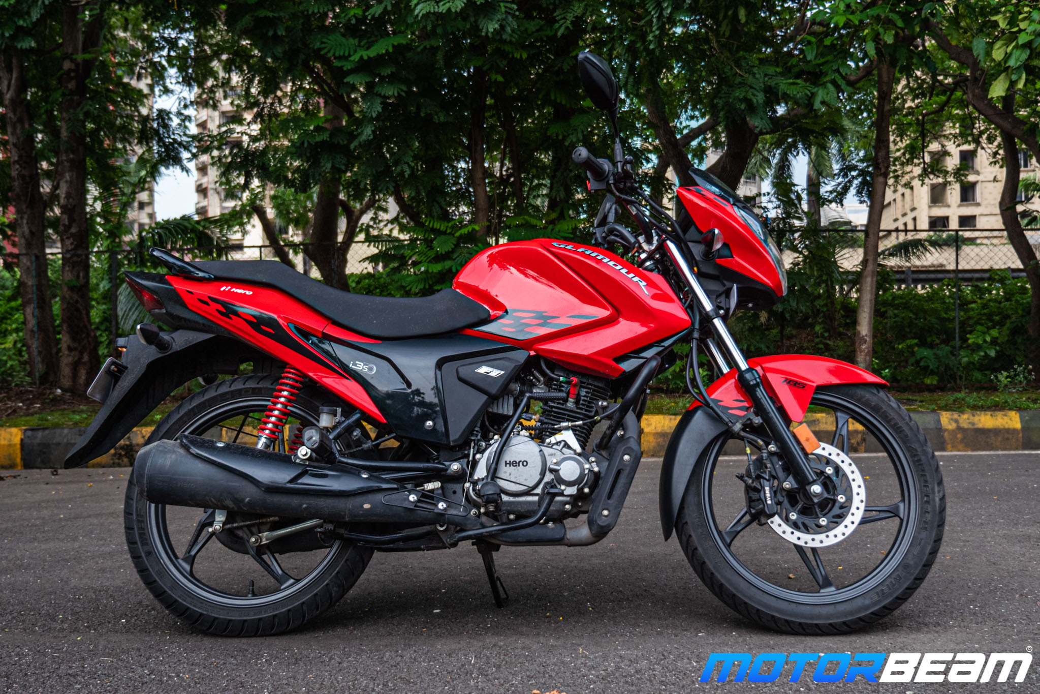 2020 Hero Glamour 125 Review 12