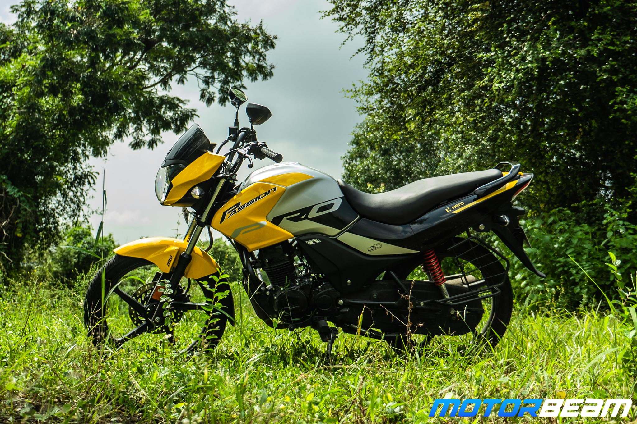 2020 Hero Passion Pro Review 7