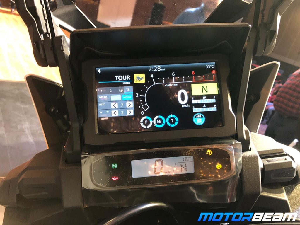 2020 Honda Africa Twin Instrument Cluster