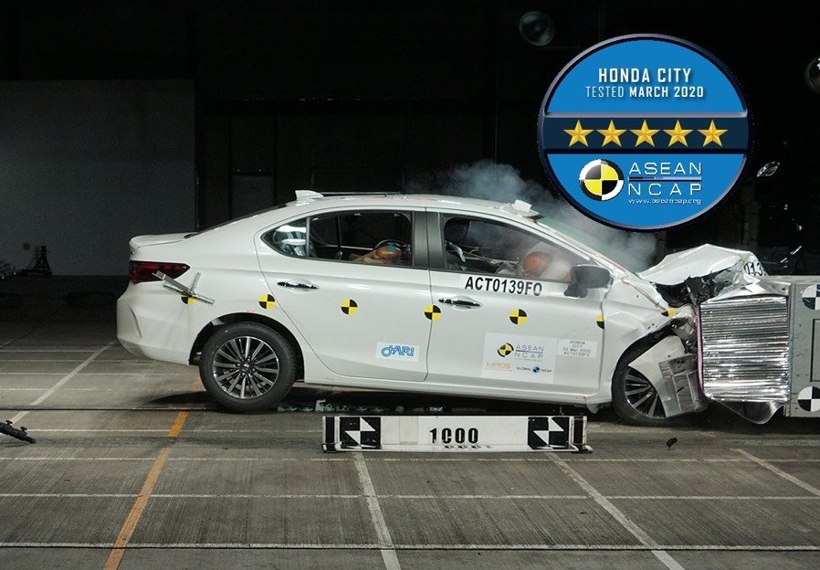 2020 Honda City Crash Test