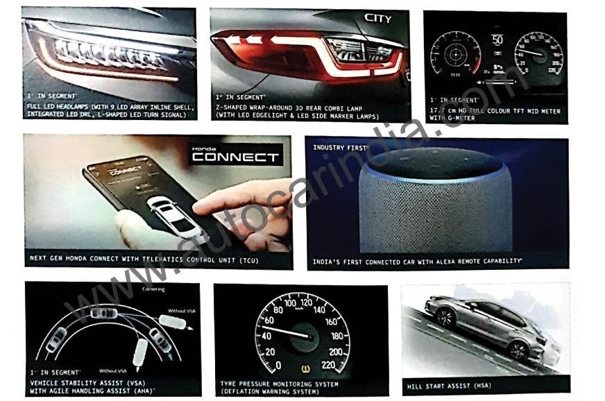 2020 Honda City Features Leaked