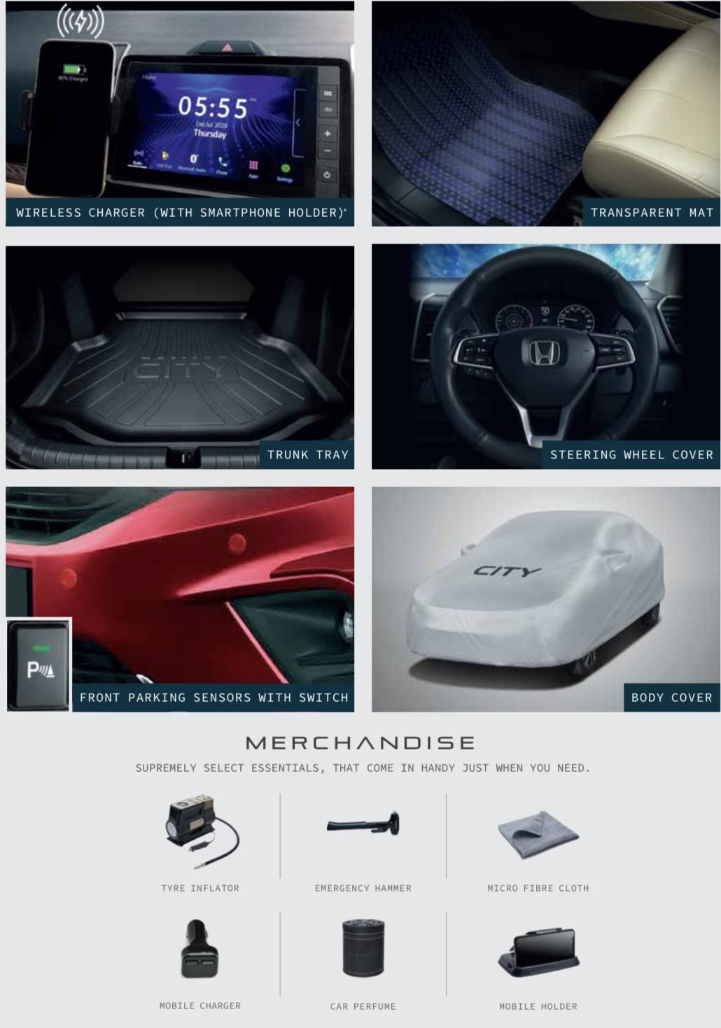2020 Honda City Merchandise