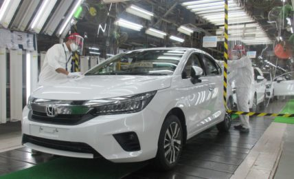 2020 Honda City Production