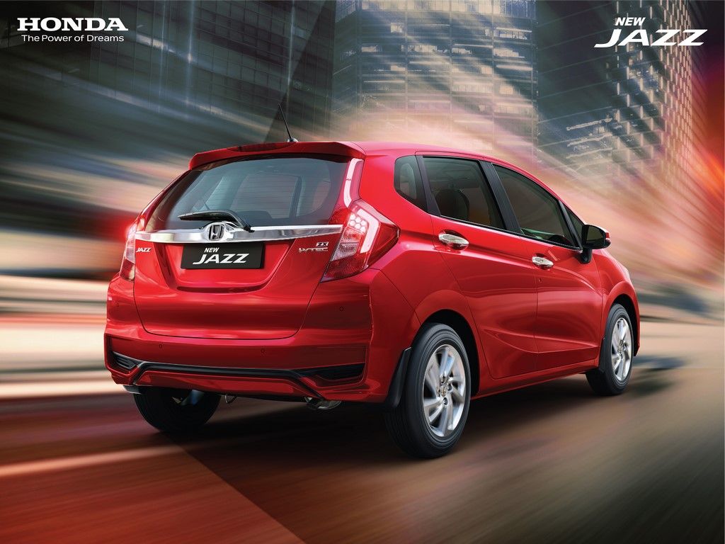 2020 Honda Jazz Rear