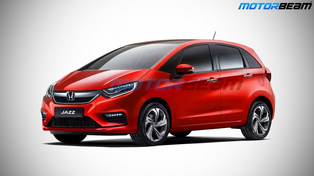 2020 Honda Jazz Render