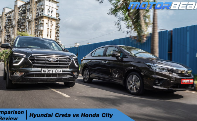 2020 Hyundai Creta vs Honda City