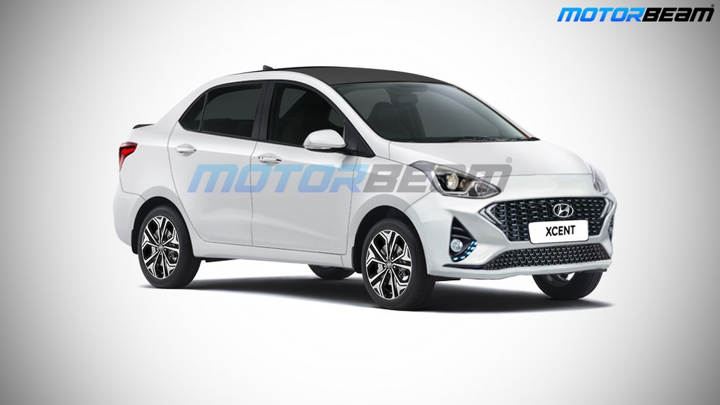 2020 Hyundai Xcent Rendered Debut After New Grand I10 Motorbeam