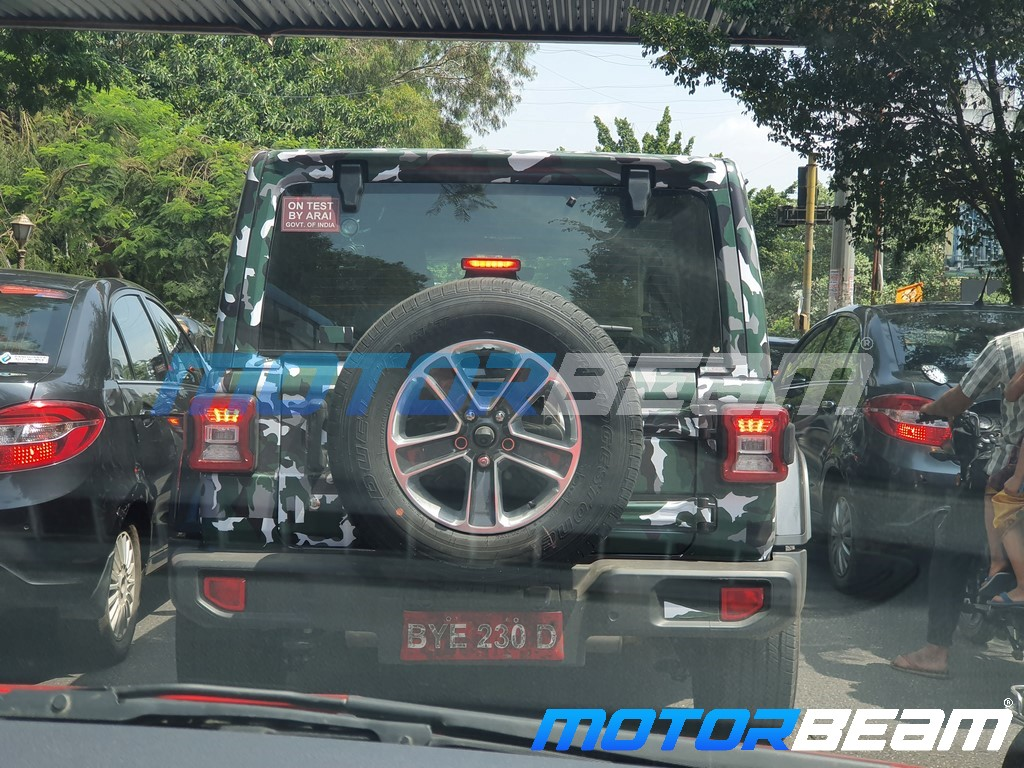 2020 Jeep Wrangler Spotted Rear