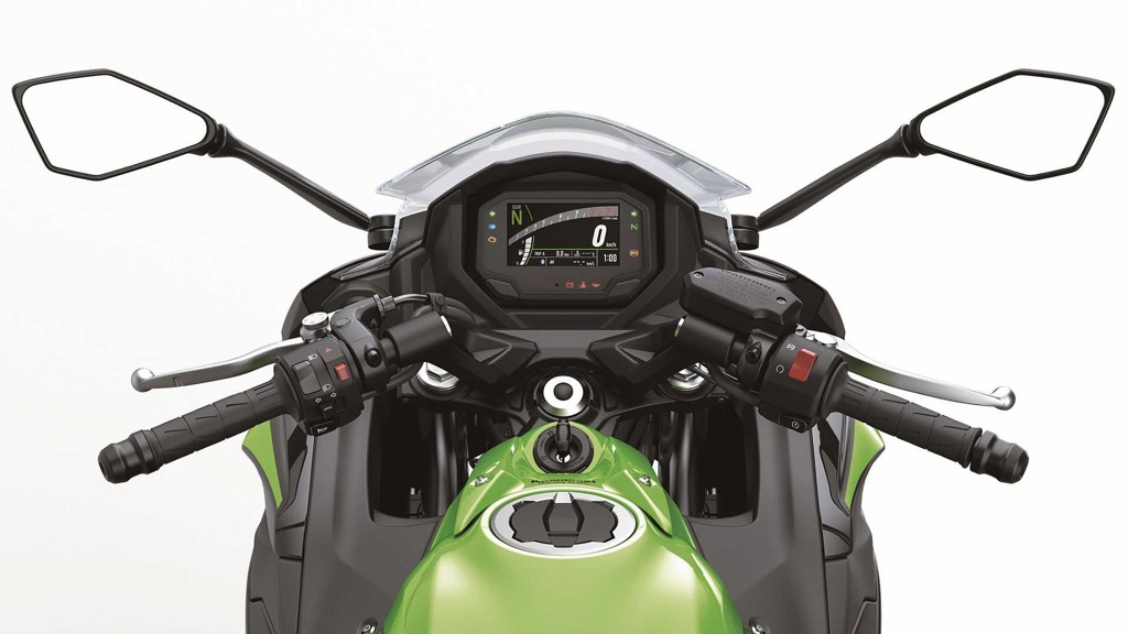 2020 Kawasaki Ninja 650 Features