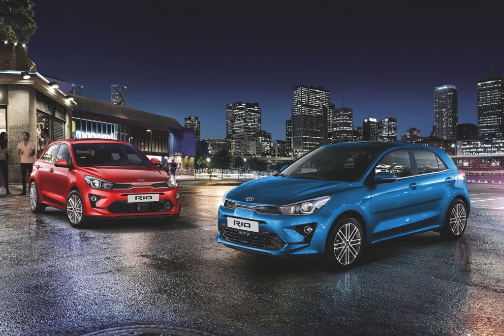 Refreshed Kia Rio revealed! Hatchback gains new engines, revamped cabin