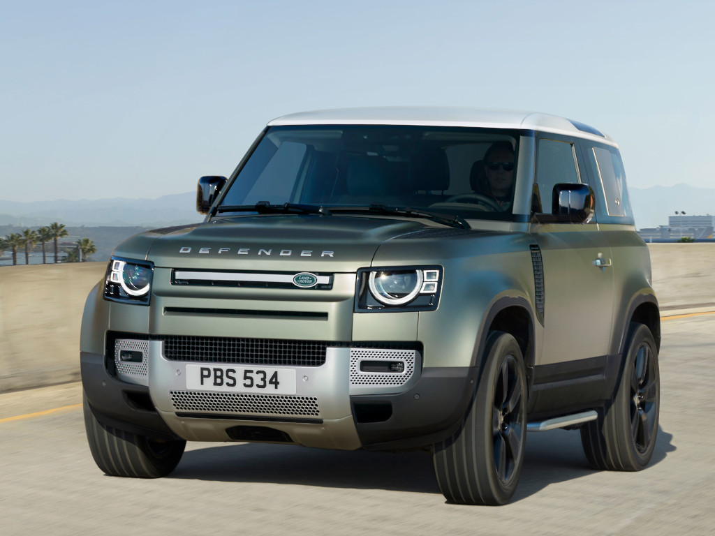 Land Rover Defender Breaks Cover