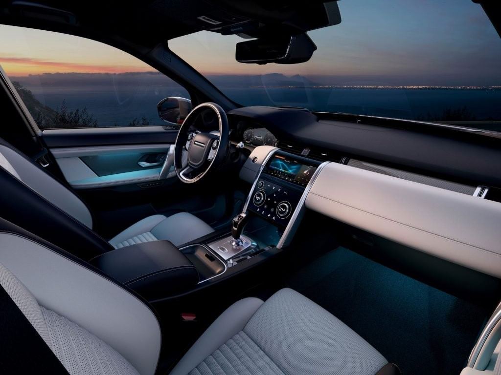 2020 Land Rover Discovery Sport Interiors