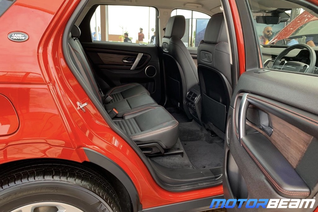 2020 Land Rover Discovery Sport Legroom