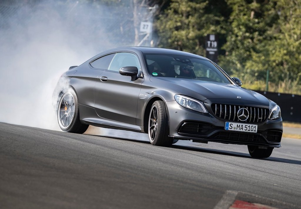 2020 Mercedes-AMG C63 Coupe Features