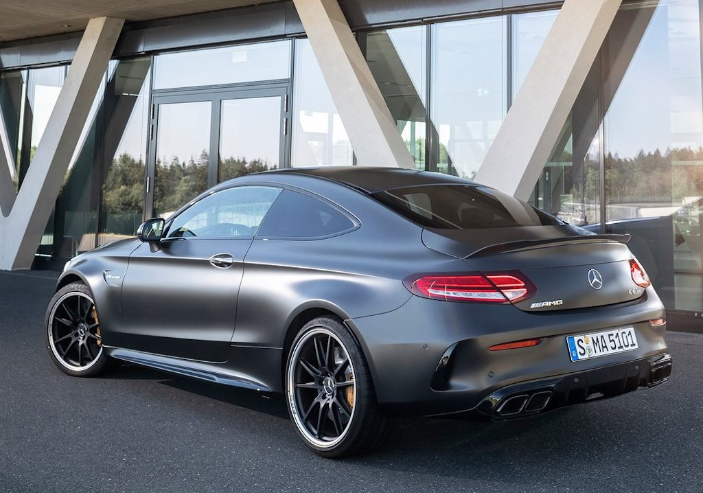 2020 Mercedes-AMG C63 Coupe Rear