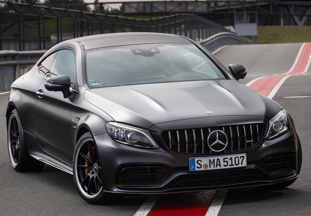 2020 Mercedes-AMG C63 Coupe