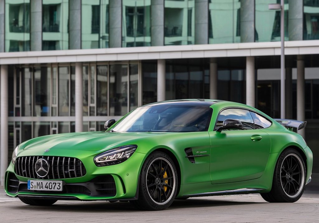 2020 Mercedes-AMG GT R Front