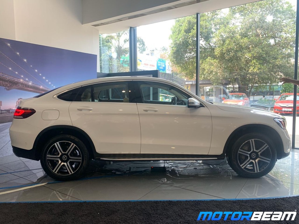 2020 Mercedes GLC Coupe Side