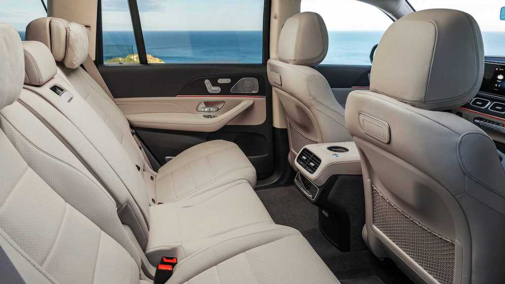 2020 Mercedes GLS Rear Seat