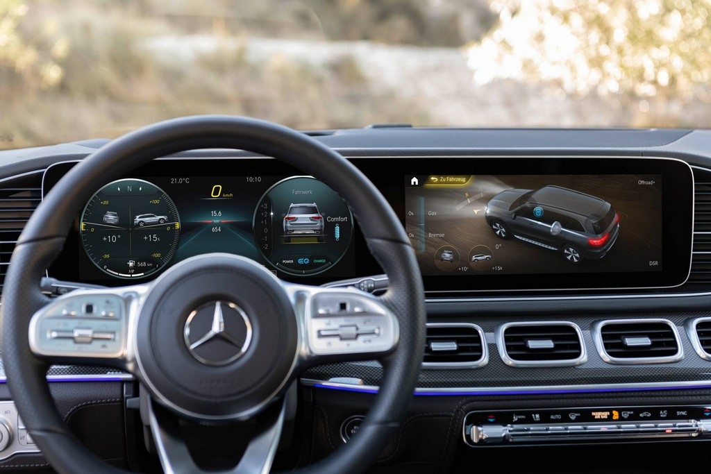 2020 Mercedes GLS Steering