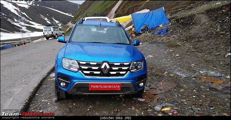 The NewsYet - 2020 Renault Duster Facelift Front