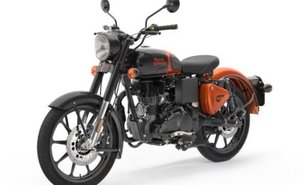 2020 Royal Enfield Classic 350 Colours Orange Ember