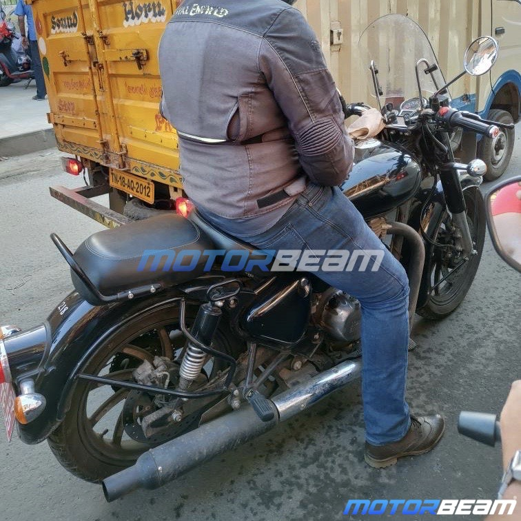 2020 Royal Enfield Classic 350 Spotted