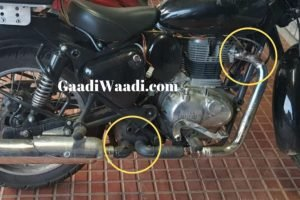 2020 Royal Enfield Classic 350 spied