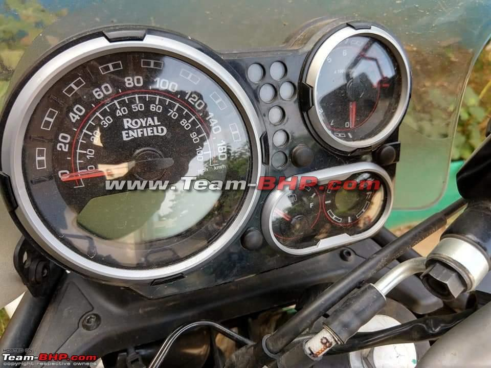 2020 Royal Enfield Himalayan Instrument Cluster